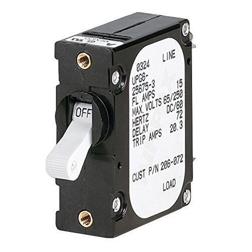 1 - Paneltronics 'A' Frame Magnetic Circuit Breaker - 20 Amps - Single Pole
