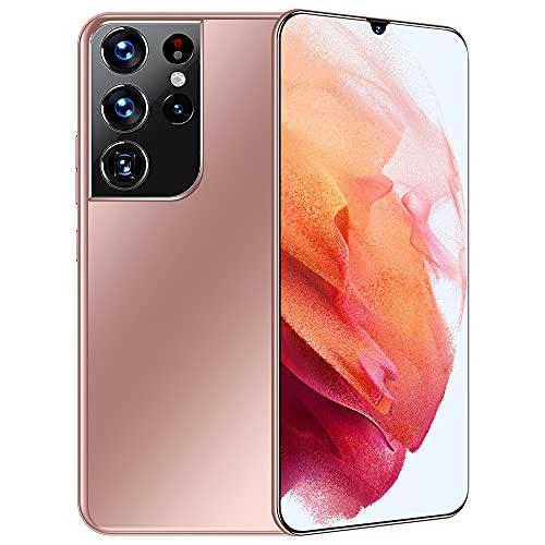 Smartphone desbloqueado, pantalla HD de 6,7 pulgadas, doble tarjeta SIM desbloqueada, 12 GB + 512 GB, red de 10 núcleos, Android teléfono móvil adecuado para personas mayores