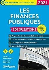Les finances publiques 2021 de JEAN MARC PASQUET