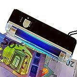 Mobiler Geldscheinprüfer UV MINI Plus mit 4 Watt starker UV