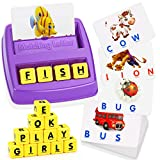 ATOPDREAM TOPTOY Matching Letter Game for Kids - Best Gifts Educational Toys (Purple)