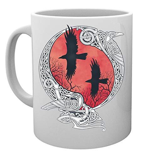 Hugin Und Munin Kaffeebecher Tassen Mug Cup