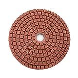 ROYAL STAR TY 10 unids/Set 4 Pulgadas de Pulido de Diamantes 4 Pulgadas Flexibles Almohadillas de Pulido húmedo para mármol de Piedra Herramientas abrasivas by (Color : Red, Size : 200)