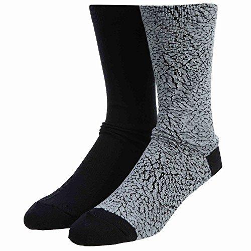 Nike sx5859–012–Calcetines para Hombre, Hombre, SX5859-012, Wolf Grey/Noir, FR : L (Taille Fabricant : 42-46)