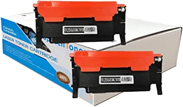 Replaces Samsung CLT-K407S Compatible 2 Black Laser Toner Cartridge for CLP-325,CLX-3185 Printers in Dual Pack