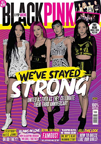 K-Pop Queens BlackPink Magazine (2019) We've Stayed Strong