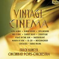 Vintage Cinema [SACD] by Erich Kun el/Cincinnati Pops Orch. (2008-10-28)