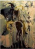 Ompecabezas De 1000 Piezas Para Adultos Don Quijote La Pintura De Art Painting Puzzle Decoración Rompecabezas Educativos Juegos De Bricolaje Brain Challenge Puzzle Sets