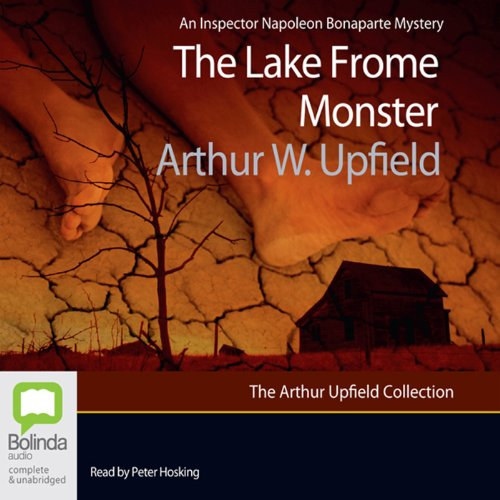 The Lake Frome Monster audiobook cover art