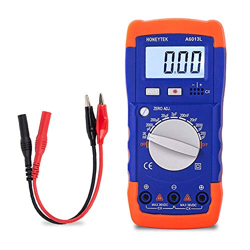 Honeytek A6013L Capacitance Meter Capacitor Electronic Measuring Capacitance Tester