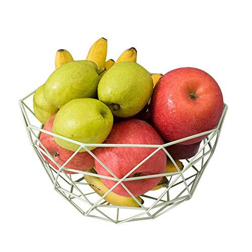 Chytaii. Panier à Fruit Corbeille de Fruits Bol de Fruits en Métal Panier de Rangement pour Fruits et Nourriture Pot de Conservation