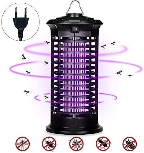 Elektrischer Insektenvernichter, UV Insektenfalle Mückenlampe Schutz vor Elektrischem Schlag, Xchingwan 4W Tragbare Mückenfalle Fliegenfalle Moskitos, Für Innen Schlafzimmer Kinderzimmer Gärten
