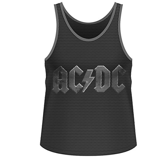 Plastic Head AC/DC Highway Lightning MATV - Débardeur - Homme, Argent, petit