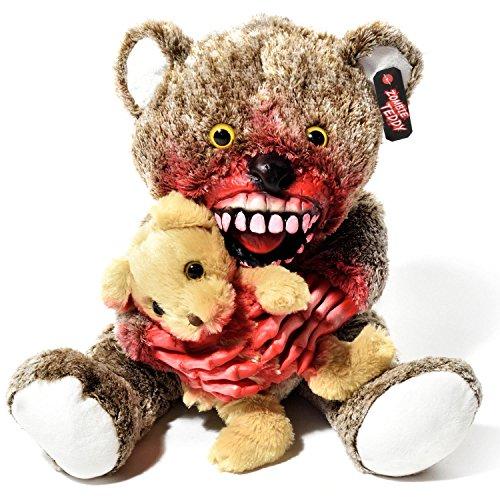 Zombie Teddy Original XXL 50cm die Halloween Teddybär Undead-Teds Evolution für alle Splatter & Horror Fans; Kannibale