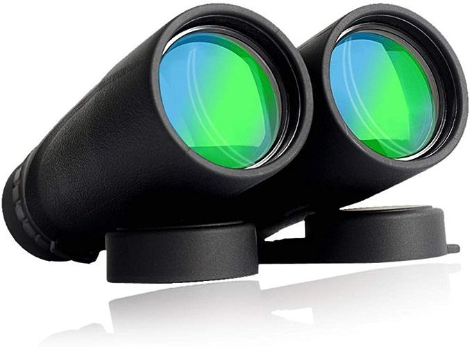Jumelles imperméables haute puissance HD, Jumelles compactes de télescope d'observation d'oiseau professionnel, télescope antibrouillard imperméable pour le tourisme voyageant extérieur chassant le je