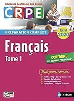 Français - Tome 1 - Ecrit 2020 - Préparation complète - CRPE de Claire DOQUET