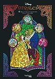 Arteterapia. Vitrales Disney. 12 dibujos antiestrés: Rasca y descubre (Hachette Heroes - Disney - Especializados)