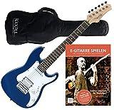 Rocktile Sphere Junior Guitare Electrique Bleu 3/4