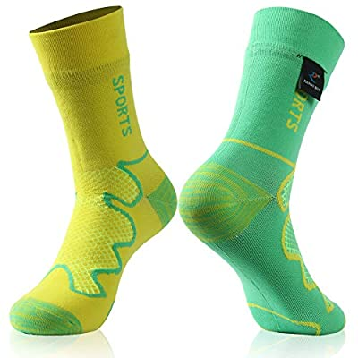 Waterproof socks, RANDY SUN Outdoor Sports Mens & Womens Running Climbing Cycling Mid-Calf Socks