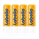 Labello Sun Protect im 4er Pack (4 x 4,8 g),...