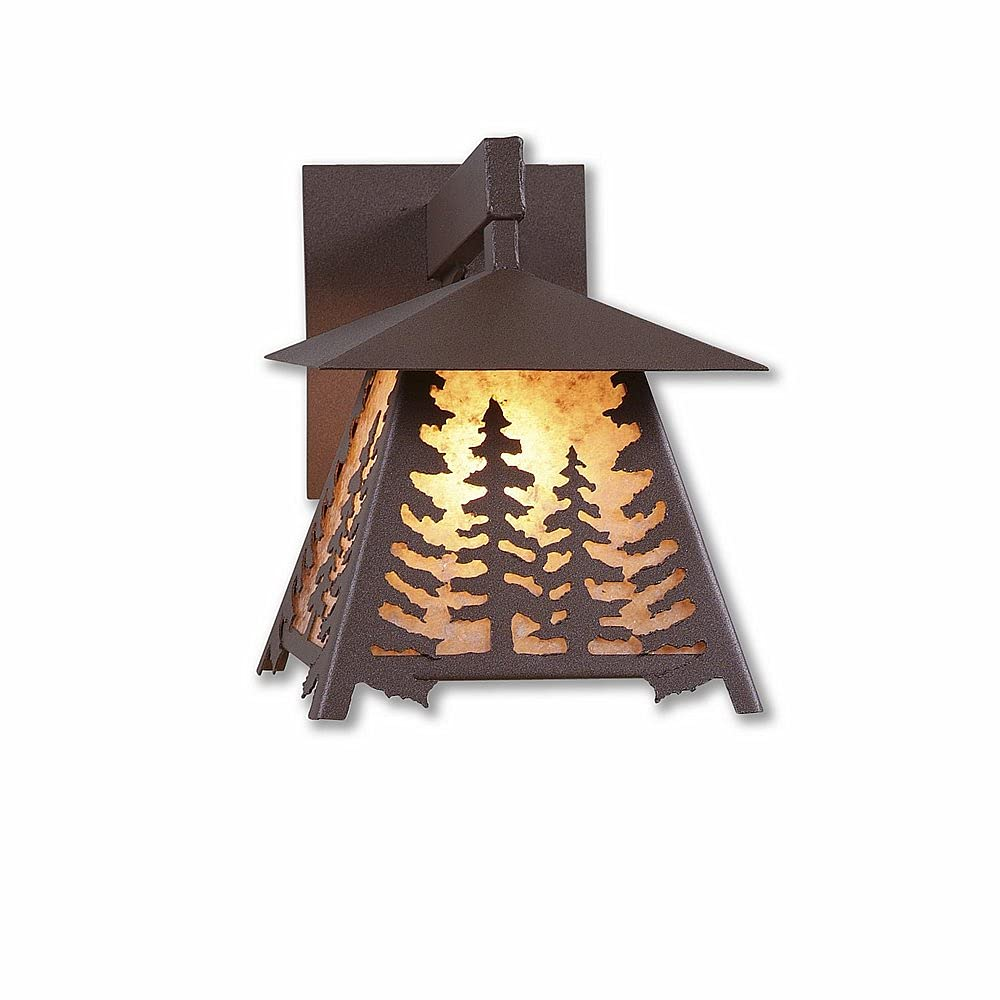 Outdoor Wall Light Rustic Style Made Smoky Mou Manufacturer OFFicial shop Limited price USA in Unique