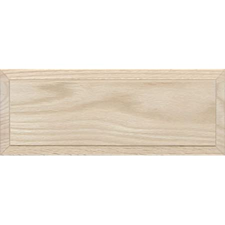 Unfinished Oak Flat Drawer Front with Edge Detail by Kendor 7H x 13W