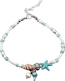 Sonmer Fashion Women Starfish Shell Beach Foot Chain Conch Anklets