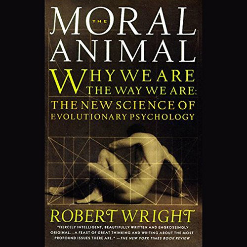 The Moral Animal audiobook cover art