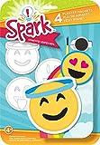 Colorbok Pflaster Magnete, Happy Emoji