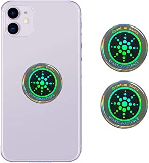 Anti Radiation EMF Shield - 2 Pack - EMF Protection Blocker, EMR Neutralizer Sticker for Use On All EMF Devices: Cell Phon...