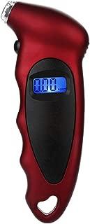 Sonmer Car Tire Tyre Air Pressure Gauge, LCD Digital Display,Max 150 PSI
