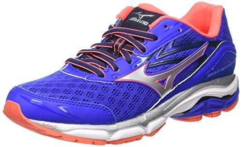 Mizuno Wave Inspire 12 - Zapatillas de Running para Mujer, Color Rosa - Pink (Diva Pink/White/Black), Talla 36.5 EU