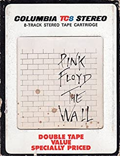 The Wall Vintage Stereo 8-Track Tape
