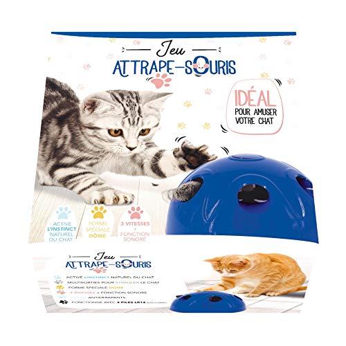 Venteo Gioco Acchiappasogni Cupola per Gatto - Il Giocattolo Ideale per divertirsi Il Tuo Animale