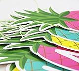 SUNBEAUTY Ananas Girlande SUMMER Buchstaben Banner Sommerparty Dekoration - 4
