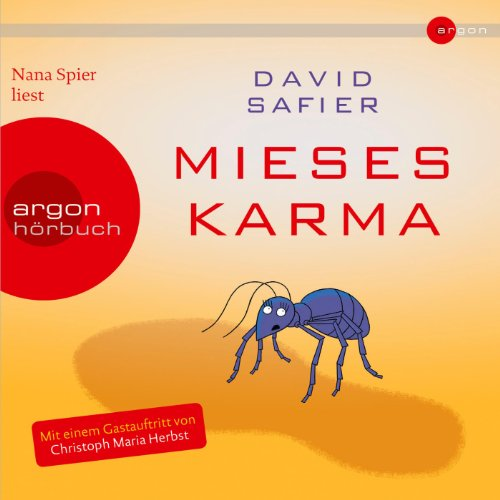 Mieses Karma audiobook cover art