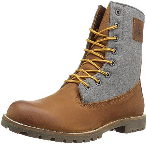 Kodiak mens Heritage Wool Mid Calf Boot, Caramel, 10.5 US