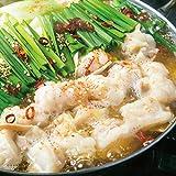 【季月 キサラギ】博多もつ鍋セット しょうゆ味 新鮮国産もつ600g使用 メガ盛りもつ鍋セット