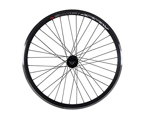 Fixed Gear, Single Speed vorne oder hinten 30mm Rad mit Joytech Flip Flop Track Naben, Joytech Flip Flop, schwarz