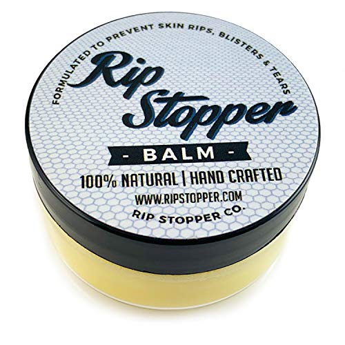 Rip Stopper Balm for Gymnastics | Hand Care Helps Repair Skin Rips, Tears and Prevent Blisters 2oz | 100% Natural | Promote Healing Damaged, Dry Or Cracked Hands by