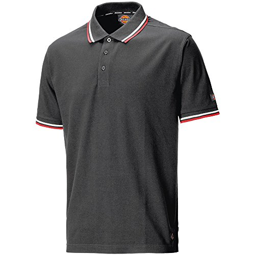 Dickies SH2001 GY Polo-Shirt Riverton Größe 3XL in grau