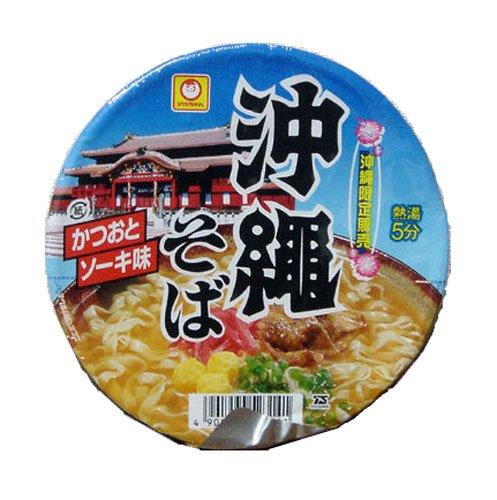 マルちゃん 沖縄そば かつおとソーキ味 即席カップ麺