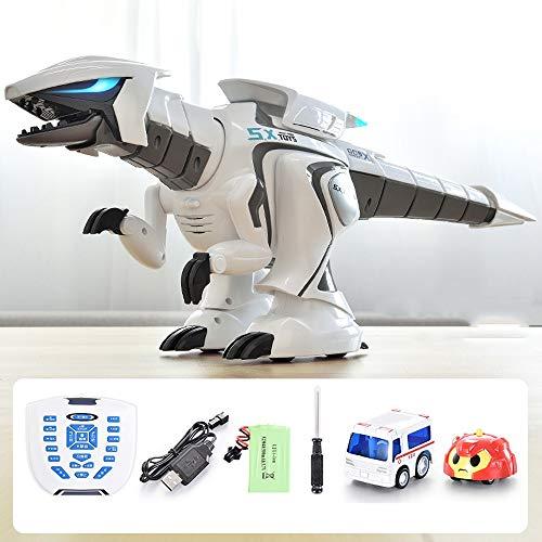 Lihgfw Elektrische Fernbedienung Dinosaurier Intelligente Simulation kann Laufen Big Tyrannosaurus Roboter Spielzeug der Kinder 3-16 Jahre alt