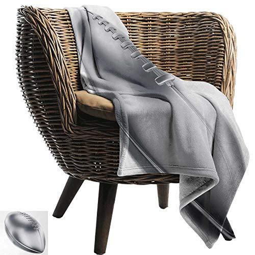ZSUO gooien deken voor bank zilver, verschillende soorten antieke kronen koningin koning keizerlijke thema vintage symbool pale groen wit gezellig en duurzaam Fabric-Machine wasbaar