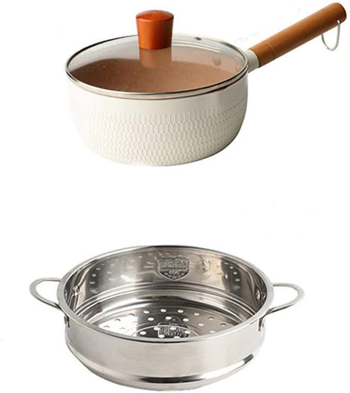 70% OFF Outlet Saucepan Nonstick Max 40% OFF Pot Small Soli Ceramic Lid with