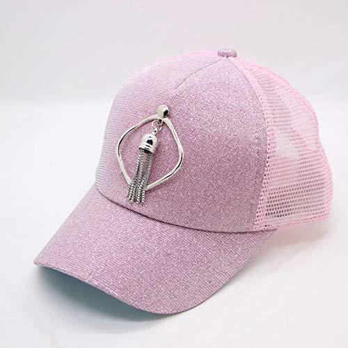 GMZXX Baseballmütze Mesh Baseball Cap Männer Net Cap Hut für Jungen Mädchen Mode schnell trocknende Baseball Caprosa
