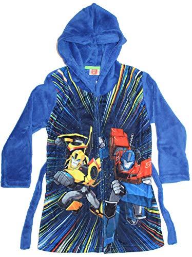 Transformers badjas voor jongens met capuchon