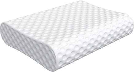 Milemont Memory Foam Contour Pillow,  Bed Pillows for Back,  Stomach,  Side Sleepers - Relieve Neck Pain with Washable Removable Cover,  CertiPUR-US
