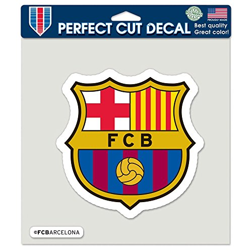 WinCraft Soccer FC Barcelona Perfect Cut Color Decal, 8' x 8'