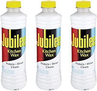 Jubilee Kitchen Cleaning Wax - For Appliances, Surfaces & Bathroom 15 oz - Pack of 3